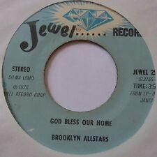 BROOKLYN ALLSTARS ~ JEWEL 45 black gospel SOUL funk ~ HEAR IT
