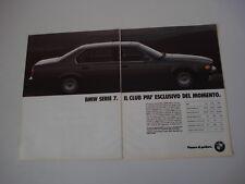 advertising Pubblicità 1990 BMW 730/735/750