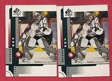 2001-02 SP AUTHENTIC # 18 AVALANCHES PATRICK ROY   CARD LOT