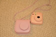 Fujifilm Instax Mini 8 Fuji Instant Film Camera (Pink) with carrying case