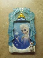 Disney Parks Frozen Elsa 4x6 Photo Frame with Olaf New Tiara