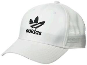 adidas Originals Men's Beacon II Precurve Snapback, White/ Black, Size One Size
