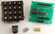 Arduino Keypad Shield w/16 Button Matrix Keypad - Uno, Curie, M0, Zero, Leonardo