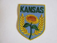 vintage  1970's Kansas Travel Souvenir Patch