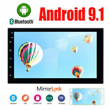 7inch 2DIN Android 9.1 Car Stereo GPS Navi Quad Core WiFi FM Radio MP5 Player