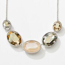 Touchstone Crystal by Swarovski Dunes Crystal Statement Necklace New