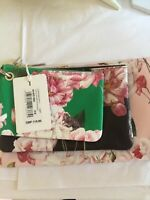 Ted Baker Iguazu Leather Triple Pouch Purse Multi Brand New with tags RRP £119