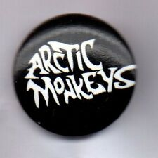 ARCTIC MONKEYS BUTTON BADGE -BRITISH INDIE ROCK BAND 25mm pin ALEX TURNER