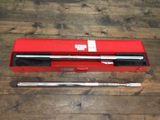 """PROTO 6023 1"""" DRIVE FIXED HEAD MICROMETER TORQUE WRENCH (770)"""