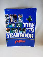 The 1979 Philadelphia Phillies Yearbook 79 Mike Schmidt Pete Rose Steve Carlton