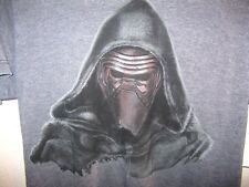 STAR WARS VILLAIN REN DISTRESSED LUXURY T-SHIRT S NWT GRAPHITE BLACK SUPER SOFT