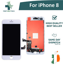 "For Apple iPhone 8 4.7"" LCD Display Touch Screen Digitizer Assembly White New"