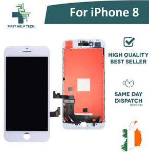 """For Apple iPhone 8 4.7"""" LCD Display Touch Screen Digitizer Assembly White New"""