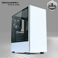 Tecware Nexus C, ATX Mid Tower Tempered Glass Gaming Computer Case w/ 3 Fans