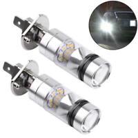 2x H1 6000K Super White 100W  LED Headlight Bulbs Kit Fog Driving Light Lamp Hot