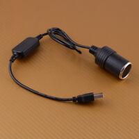 Car Cigarette Lighter Socket Power Female Converter Adapter USB 5V To 12V Cable