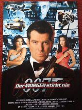 Der Morgen stirbt nie 007 James Bond Kinoplakat Poster A1 Pierce Brosnan