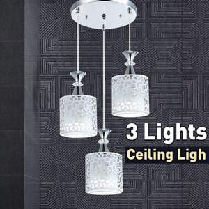 Modern LED Flower Petal Ceiling Light Pendant Lamp Dining Room Chandelier New