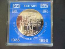More details for 1996 £5 coin cased the 70th birthday of queen elizabeth  brilliant uncirculated