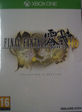 Final Fantasy Type - 0 HD Collectors Edition, Steelbook manga, Xbox One, nuevo & OVP