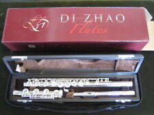 MINT DEMO Di Zhao DZ400 BOF FLUTE SOLID SILVER HEAD, OFFSET G, LOW B