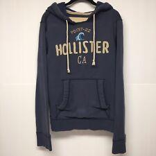 Hollister California.Women.Sweatshirt/Hoodie Large.Gray.logo.kangaroo Pocket.EUC