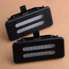 White 18-SMD LED Vanity Front Mirror Lights CAN-bus For BMW E60 E61 E90 E91 E92