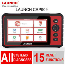 Launch X431 CRP909 Full System DPF IMMO SAS EPB Coding OBD2 Scanner Automotive