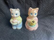 Vintage Avon Cat Cream Pitcher and Sugar Bowl 1991