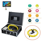 """7""""LCD HD 30M Sewer Waterproof Camera Pipe Pipeline Drain Inspection System"""