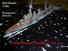 "Più facile incrociatore ""Dresden II"" 1942 1/700 Bird models resinbausatz/RESIN KIT"
