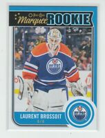 (70185) 2014-15 O-PEE-CHEE MARQUEE ROOKIE LAURENT BROSSOIT #509 RC