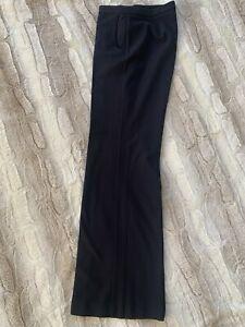 Express Design Studio Stretch Editor pinstripe Pants size 3/4 Blue Retails $69