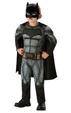 Rubie's Official DC Justice League Batman Deluxe Children Costume - Small Age 3-4 Years Height 104 Cm