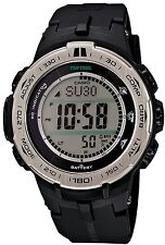 Casio PRO TREK PRW3100-1 Triple Sensor Ver.3 Multiband 6 Solar 100m Men's Watch