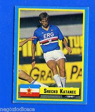 TOP MICRO CARDS - Vallardi 1989 - Figurina-Sticker - KATANEC - SAMPDORIA