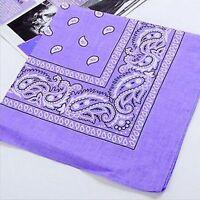 Cotton Handkerchief Paisley Scarf Handkerchief Neck Bandana Head Wrap