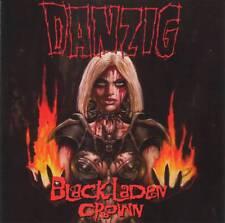 DANZIG (Misfits, Samhain) - BLACK LADEN CROWN (2017) CD Jewel Case+FREE GIFT