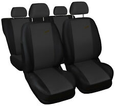 Car seat covers fit Ford Mondeo - XR black/dark grey sport style full set