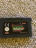Teenage Mutant Ninja Turtles 2 Battle Nexus Nintendo Gameboy Advance Game! Used