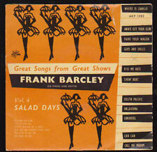 """7"""" EP Frank BARCLEY and his great canzoni from Great spettacoli vol. 4"""