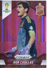Panini Prizm WC 2014 paralelo tarjeta roja Prizm Base # 170 Iker Casillas