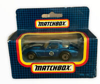Vintage Matchbox Superfast Boxed Corvette Grand Sport Car Diecast Boxed Toy (s