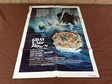 1978 Gray Lady Down Original Movie House Full Sheet Poster