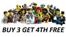 GENUINE RARE LEGO MINIFIGURES SERIES 1 8683 PICK YOUR OWN + BUY 3 GET 4TH FREE