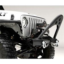 SRC Front Stinger Black Textured Jeep 87 06 Wrangler YJ/TJ/LJ Smittybilt 76521