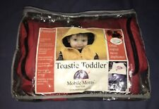 Mobile Moms Toastie Toddler Original Red Baby Stroller Winter Blanket Footmuff