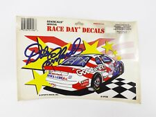Staticals Official Race Day Decal Dale Earnhardt