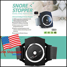 New! Anti Snore Stop Snoring Wristband Watch Sleep Apnea Aid Cessation