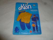 New On Card Ken Twice As Nice Reversible Fashions Set 2305 Mattel 1985 Vintage >